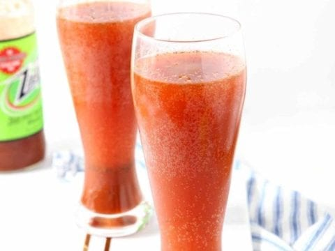 Tailgate Drink | Beer Cocktail | Bloody Mary Twist | Easy Tailgating Drink | Easy Entertaining Drink | Breakfast Drink | Brunch Drink | Easy Cocktail