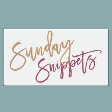 Sunday Snippets // The Speckled Palate
