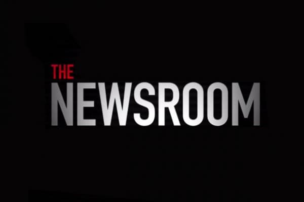 Info text that reads The Newsroom