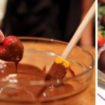 Lindt Chocolate R.S.V.P. Preview Party, Chocolate & Wine Pairings AND Chocolate Dipped Strawberries!