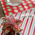Greek Yogurt Cut Out Sugar Cookies