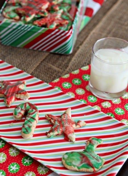 How to make Greek Yogurt Cut Out Sugar Cookies.