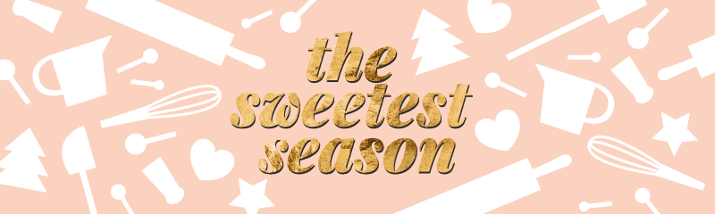 Pink-and-gold The Sweetest Season 2018 banner