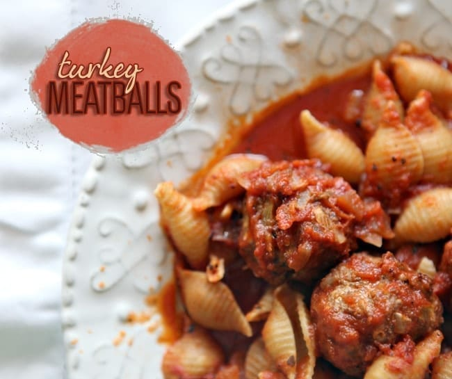 Turkey Meatballs // The Speckled Palate