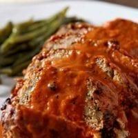 Wednesday's Dinner:Slow Cooker Turkey Meatloaf