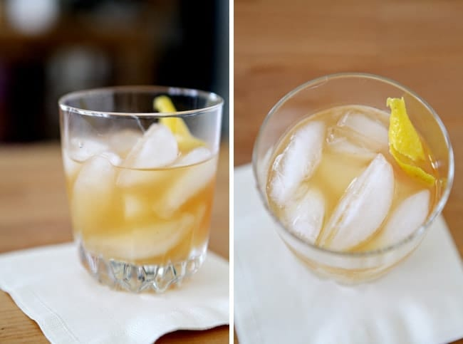 The Cocktail Chronicles: Rum Sidecar // The Speckled Palate