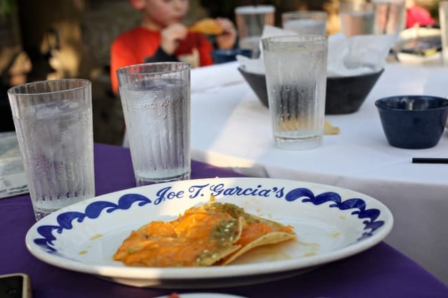 What We Ate: Joe T. Garcia's, Fort Worth, Texas // The Speckled Palate