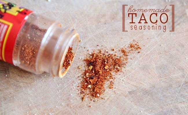 Homemade Taco Seasoning // The Speckled Palate