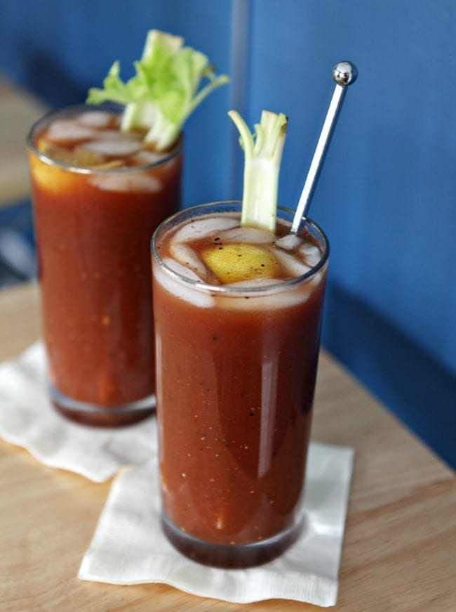 The Cocktail Chronicles + Tailgate Thursday: Bloody Marys // The Speckled Palate