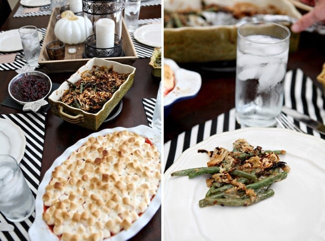 Fresh Green Bean Casserole for a Thanksgiving Potluck // The Speckled Palate