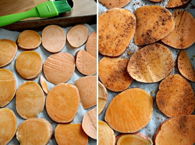 Sweet Potato Oven S'mores for the Thanksgiving Potluck 2013 // The Speckled Palate