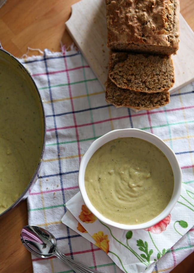 Broccoli Cheddar Soup // The Speckled Palate