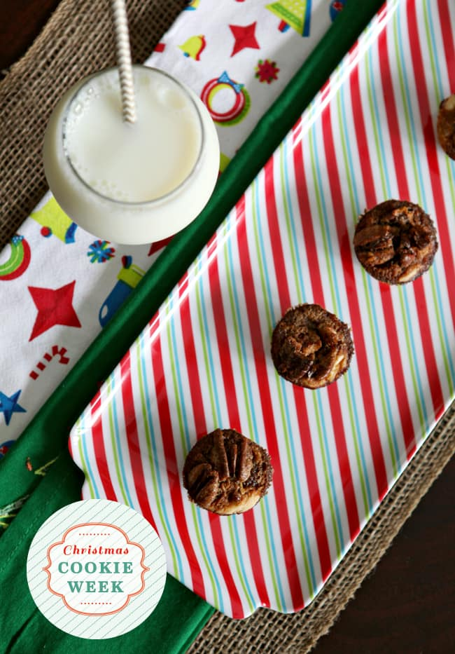 A spin on the traditional Pecan Tassie, these Bourbon Pecan Tassies are knock-your-socks-off delicious just in time for the holidays! You will not be able to stop popping these one-bite little bourbon pecan pies once they have come out of the oven.