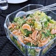 Super Bowl Party Food: Ramen Noodle and Clementine Salad