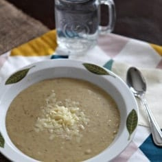 Potato and Leek Soup, adapted by Emeril Lagasse // The Speckled Palate
