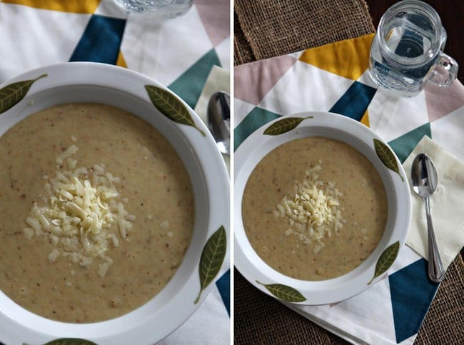 Potato and Leek Soup, adapted from Emeril Lagasse // The Speckled Palate