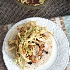 Runner Food: Soy Seared Cod Tacos with Spicy Slaw // The Speckled Palate
