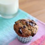 These delicious and decadent Dark Chocolate Chunk Muffins are dairy free! They're perfect for a weekend get-together.