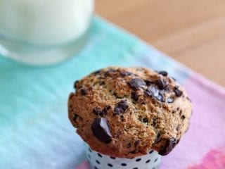 Dark Chocolate Chunk Muffins