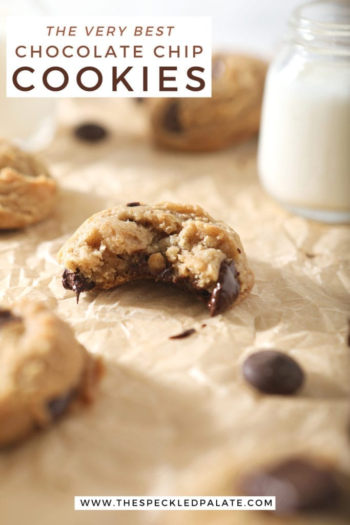 A bitten into cookie is shown with other cookies, with Pinterest text
