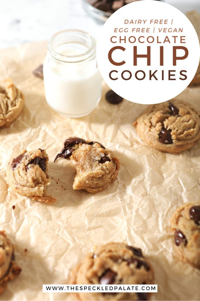 A broken cookie is shown with other cookies, with Pinterest text