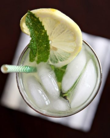 Mint Lemonade // The Speckled Palate