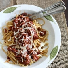 Turkey and Sausage Tomato Sauce // The Speckled Palate