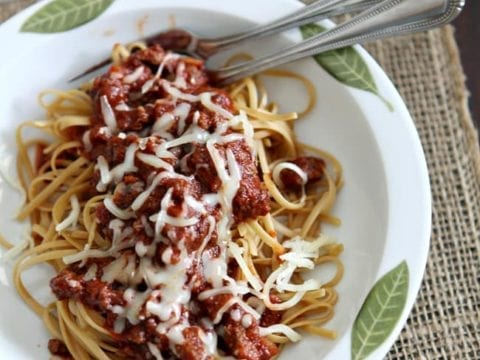 Turkey and Sausage Tomato Sauce