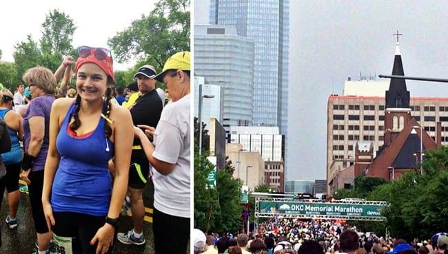 Race Recap: OKC Memorial Marathon // The Speckled Palate