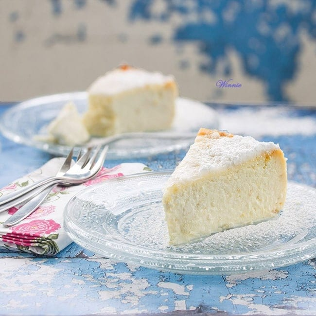 Lemon Ricotta Cheesecake from Something Sweet // That's Fresh Friday at The Speckled Palate