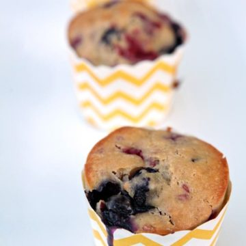 Mixed Berry Muffins // The Speckled Palate