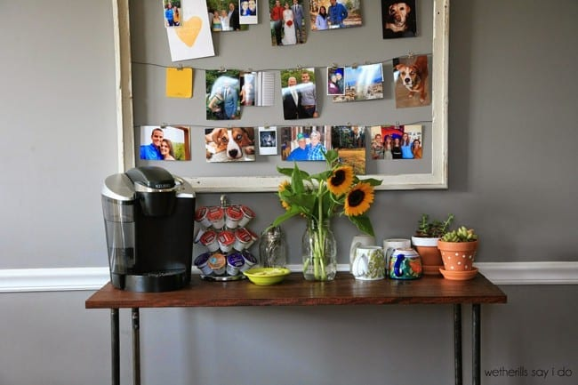 DIY Coffee Bar from The Wetherills Say I Do // That's Fresh Friday at The Speckled Palate