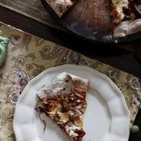 Friday's Dinner:BBQ Pulled Pork Pizza