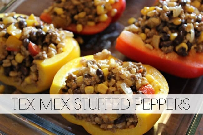 Tex-Mex Stuffed Peppers from Rachel at My Cooking Spot // That's Fresh Friday Link-Up at The Speckled Palate