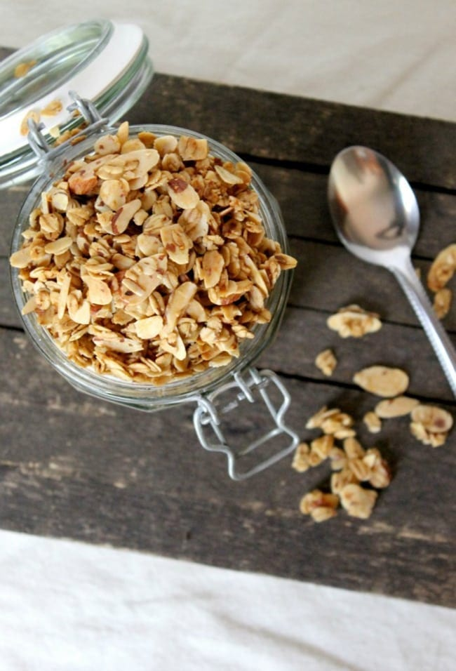 Vanilla Almond Granola Cereal from Natural Chow// That's Fresh Friday Link-Up at The Speckled Palate