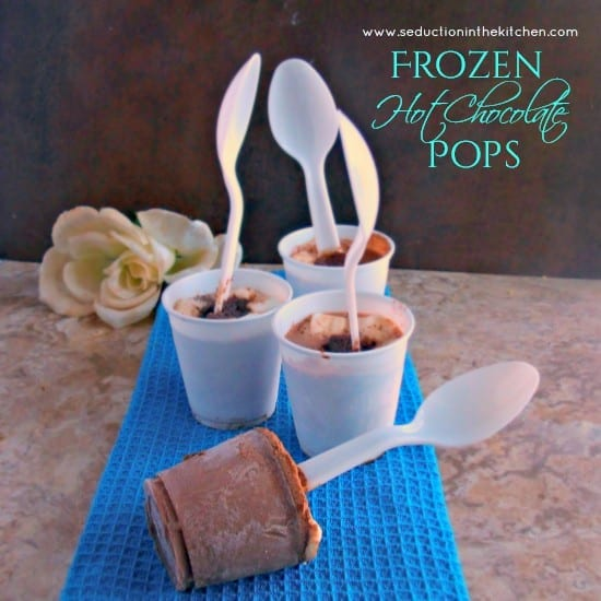 Frozen Hot Chocolate Pops from Seduction in the Kitchen // That's Fresh Friday Link-Up at The Speckled Palate