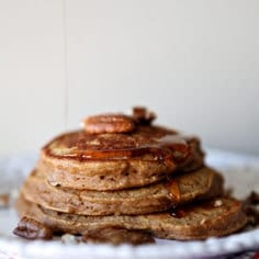 Sweet Potato Pancakes // Erin Skinner from The Speckled Palate for My Cooking Spot