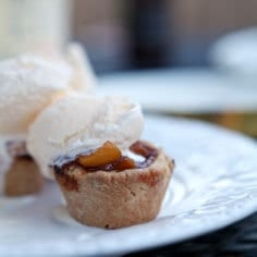 Mini Peach Pies // The Speckled Palate
