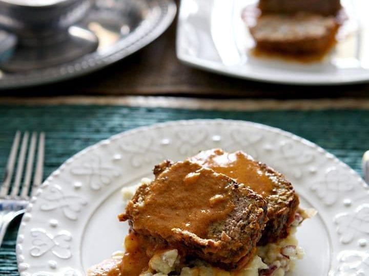 Slow Cooker Italian Meatloaf