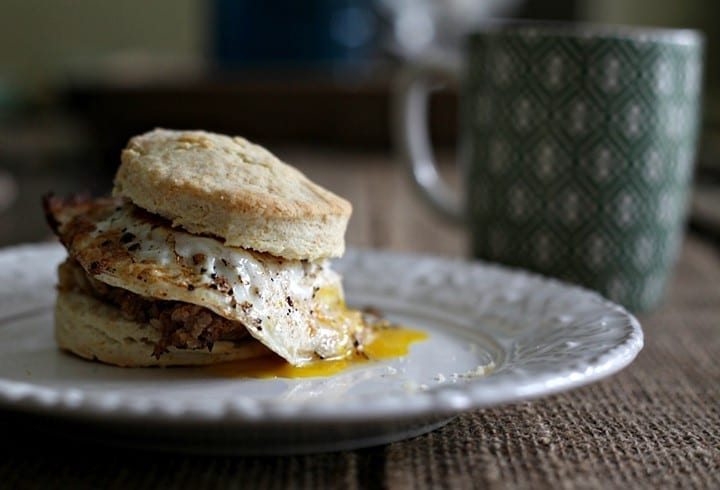 It's Football Season Friday: Let's kick off this football season strong with this Cajun-country favorite, Boudin and Egg Breakfast Sandwiches! // The Speckled Palate