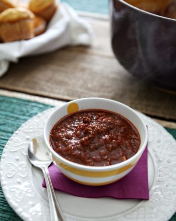 Beef and Buffalo Chili // The Speckled Palate
