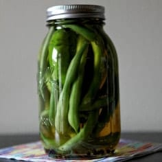Pickled Green Beans // The Speckled Palate