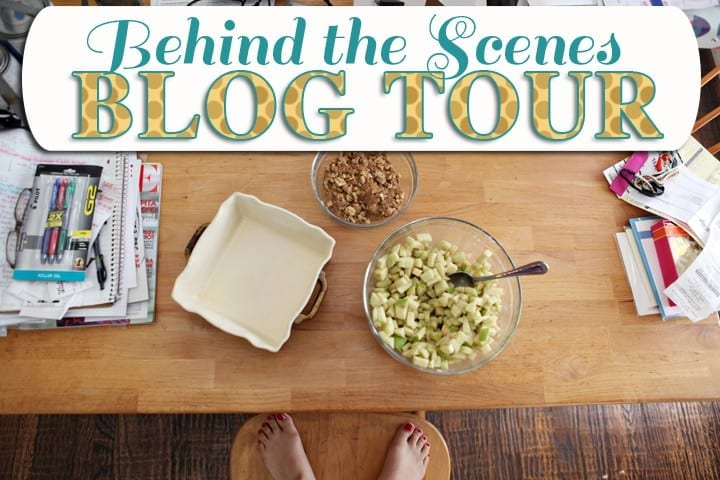 Behind the Scenes Blog Tour // The Speckled Palate
