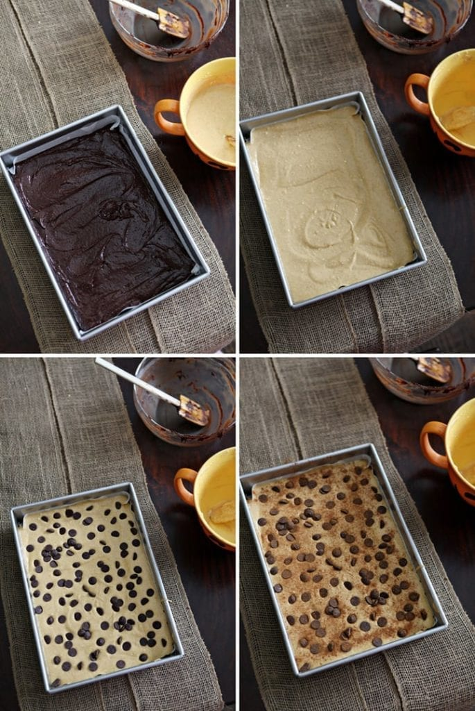 Comfort in 1: Pumpkin Cheesecake Brownie Bars // The Speckled Palate