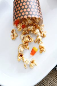 Halloween Caramel Corn // The Speckled Palate