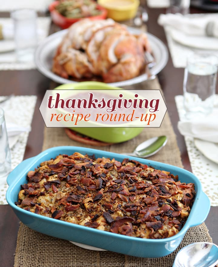 Thanksgiving Recipe Round-Up: Inspiration // The Speckled Palate
