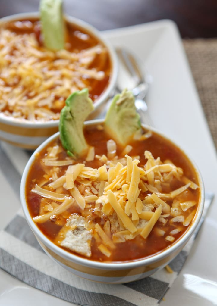 Thanksgiving Leftover Idea: Turkey Tortilla Soup // The Speckled Palate