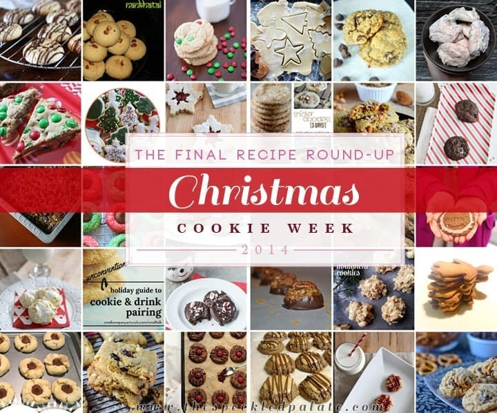 Collage of Christmas Cookies for Christmas Cookie Week 2014
