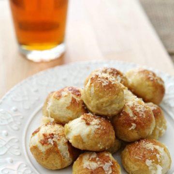 Parmesan Pretzel Bites // @speckledpalate for @mycookingspot