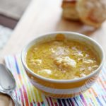 Roasted Cauliflower Cheddar Soup